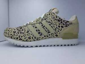 569827836 Adidas N. 44 2 3 UK 10 Originals ZX 700 Leopard Cheetah Retro ART ...