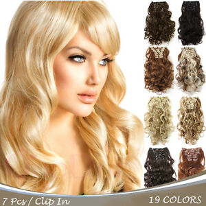Onedor 20 curly full head synthetic clip in hair extensions image is loading onedor 20 034 curly full head synthetic clip pmusecretfo Choice Image