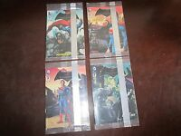 Batman Vs Superman General Mills Comic Book Cereal Premium 1 - 4 Complete Set