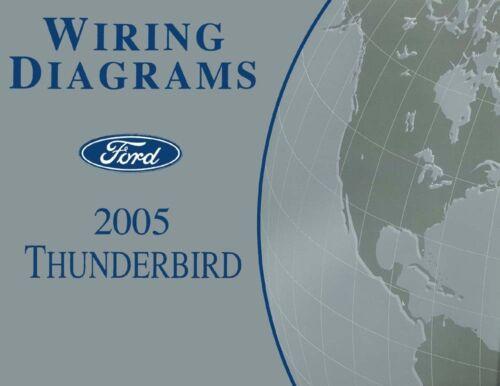 2005 Ford Thunderbird Wiring Diagrams Schematics