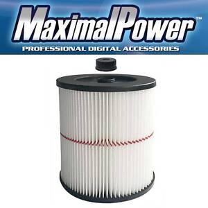 MaximalPower Replacement Cartridge Filter for Craftsman 9-17816 Vacuum