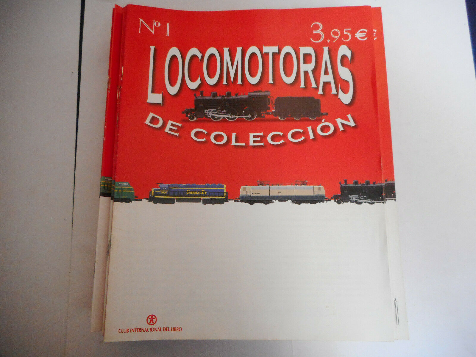 COLECCION LOCOMOTORAS COLECCION 50 MAGAZINE FASCICULOS 2002 CLUB  INTER. LIBRO  100% neuf avec qualité d'origine