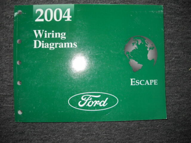 2004 Ford Escape Electrical Wiring Diagram Troubleshooting