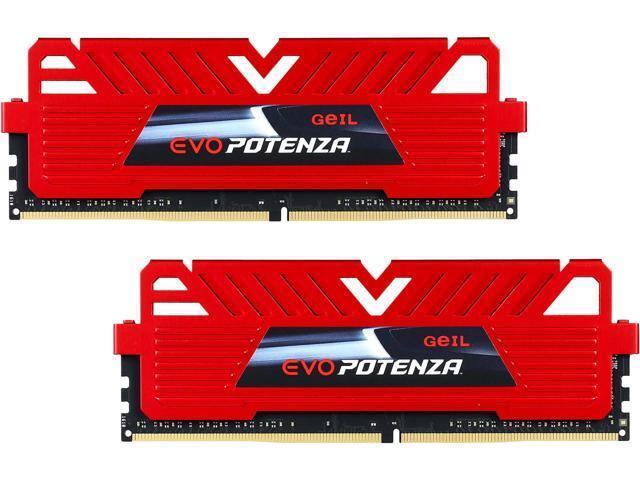 GeIL EVO FORZA 16GB (2 x 8GB) PC4-19200 2400MHz DDR4 288-Pin DIMM Desktop Memory
