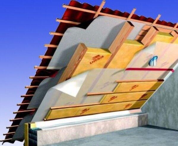 Dämmpaket für ca. 120m²  Dachausbau - Klemmfilz  WLG 035 in 100 mm