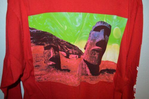 SUPREME Easter Island SEASON SS13 Longsleeve T-Shi