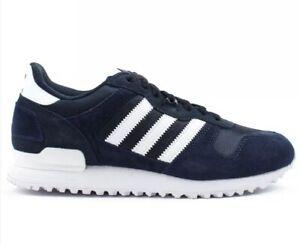 94f9d00c4 Adidas Originals ZX 700 Men s Size 8 Athletic Shoes Navy Blue White ...