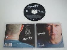 PHIL COLLINS/TESTIFY(WARNER MUSIC-FACE VALUE 0927-49273-2) CD ALBUM