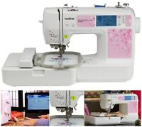 Brother Pe500 Embroidery-only Machine Usb Automatic Needle Threader & More