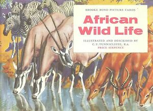 Brooke Bond  African Wild Life  Set in album - <span itemprop=availableAtOrFrom>Matlock, United Kingdom</span> - Open immediately on receipt. Inform seller at once if the item does not match the description in the listing. Return within seven days for full refund Most purchases from business sellers - Matlock, United Kingdom