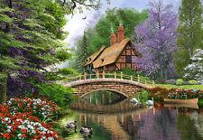Puzzle Castorland 1000 Teile - Dominic Davison: Landhaus am Fluss (40897)