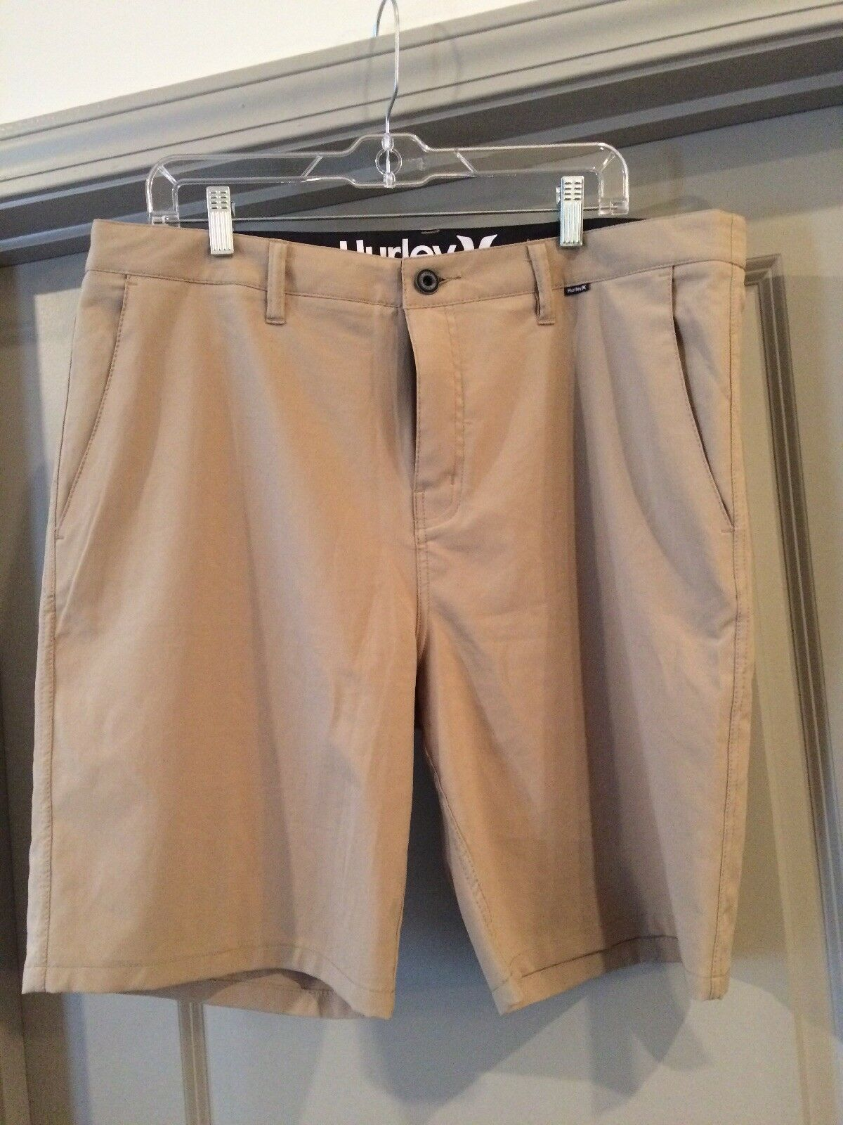 Hurley Men's Size 36 L Khaki Board Shorts