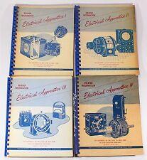 Electrical Apprentice 4 Volume Set Vtg New York Textbook Photo Electronics Parts