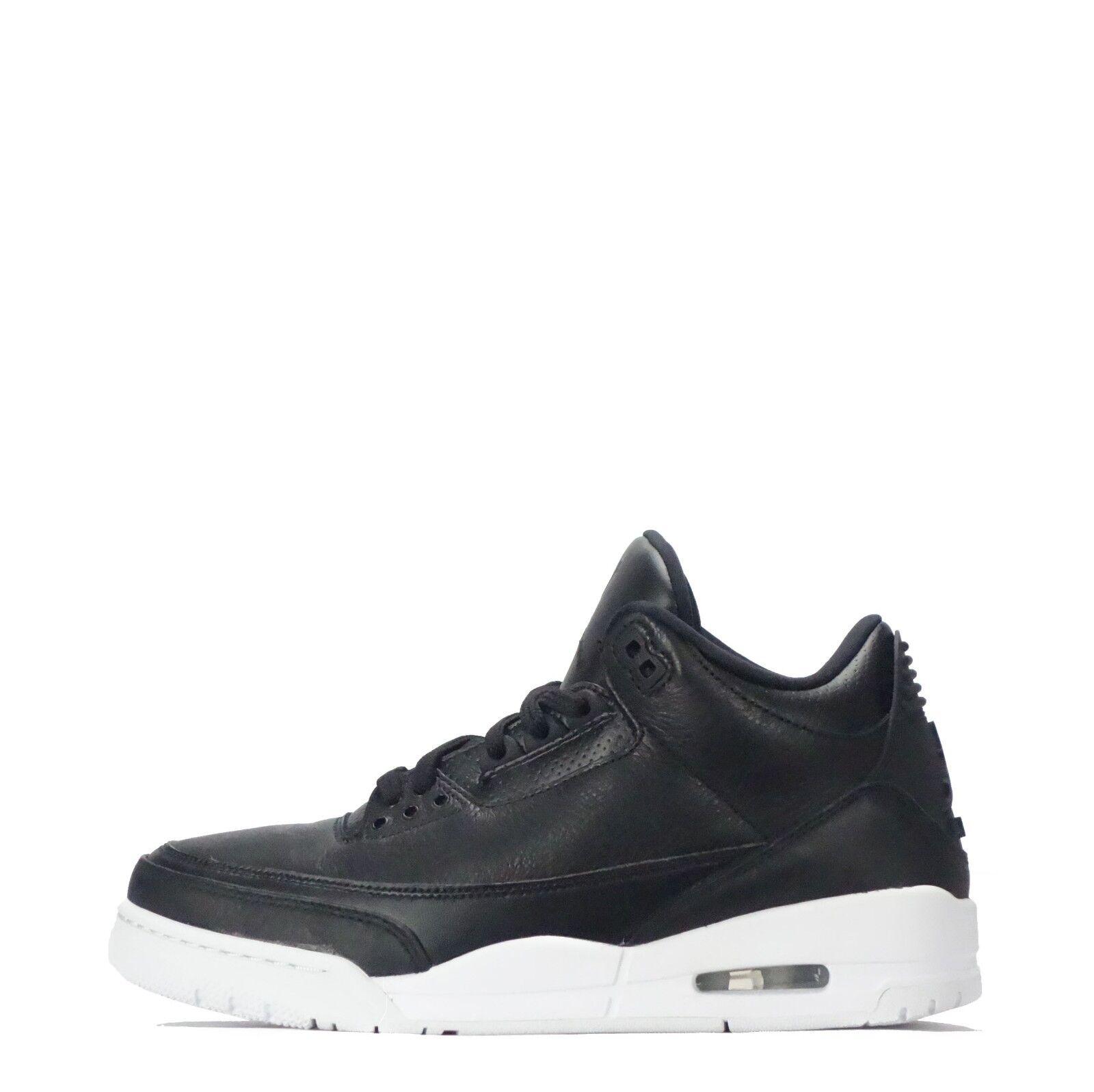 Nike Air Jordan 3 Retro Men's shoes Black White