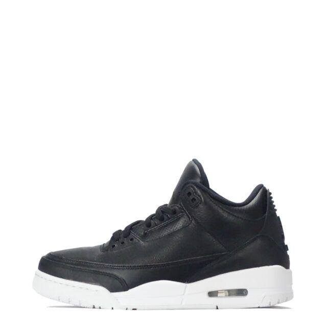 pretty nice a1d26 05adf Nike Air Jordan 3 Retro para Hombre Zapatos Negro Blanco