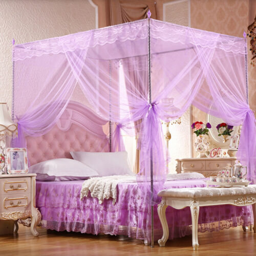 Princess Bed Canopy Mosquito Netting Bedding Insect Net Kids Adults All Sizes