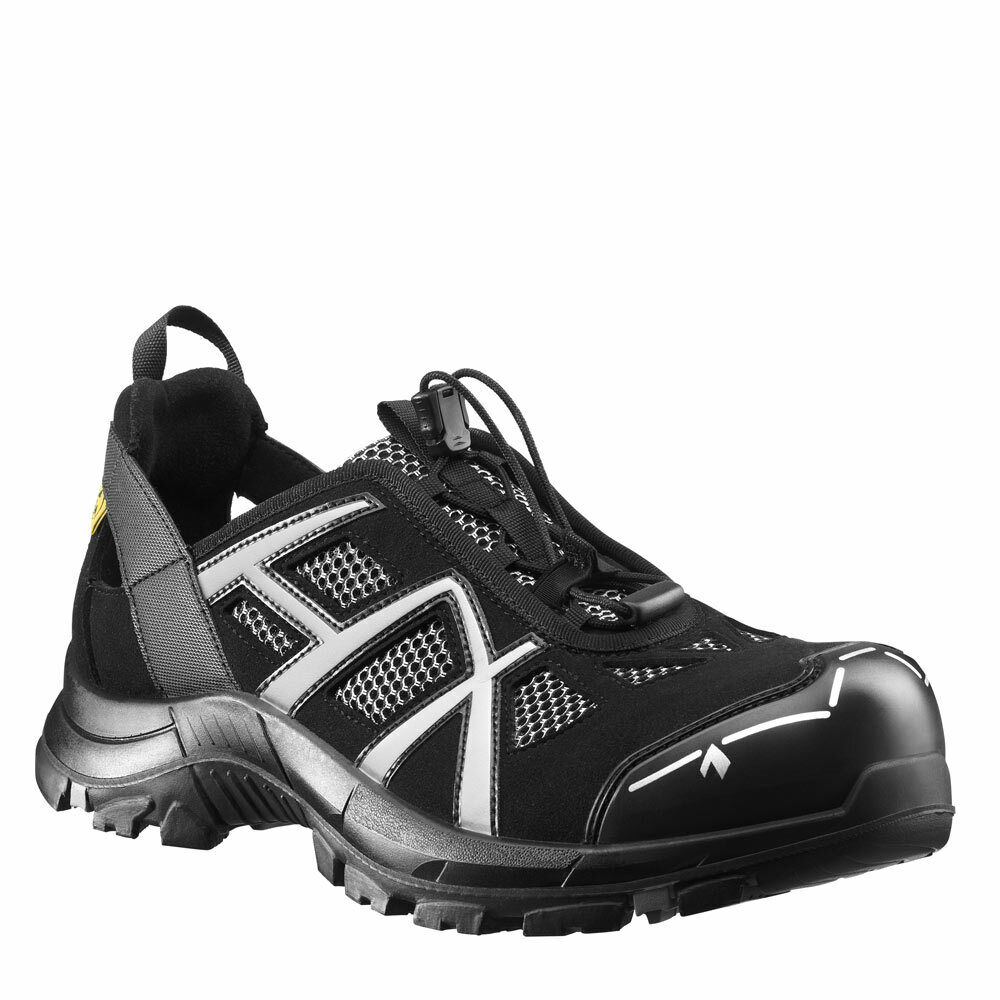 HAIX BLACK EAGLE SAFETY 61 LOW BLACK SILVER 610005 Breathable safety boots