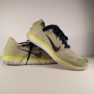 Nike Free RN Flyknit Running Shoes Pure