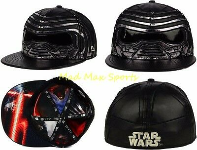 Star Wars The Force Awakens Kylo Ren All Over Battle New Era 59Fifty Fitted Hat