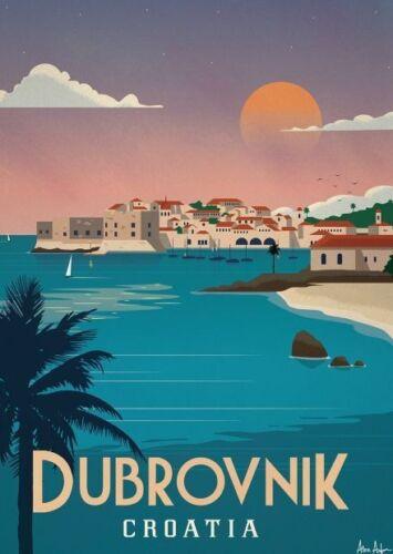 "DUBROVNIK CROATIA TRAVEL  2x3 /""Photo Fridge Magnet"