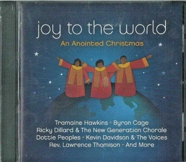 """""""Joy To The World: An Anointed Christmas"""" (Audio CD 2008) Ships in 12 hrs!!! 