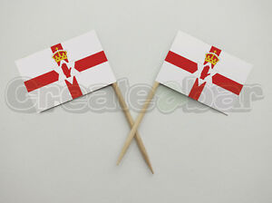 72-Ulster-Banner-Flag-Picks-Buffet-Sandwich-Food-Party-Sticks-Paper-Flags
