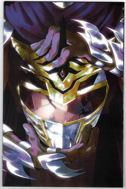 MIGHTY MORPHIN POWER RANGERS TMNT #1 NM MONTES ONE PER STORE VARIANT 2ND PRINT