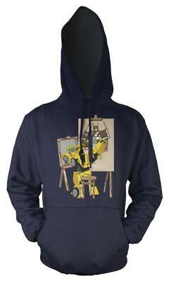 Iniziativa Transformer Bumblebee Artista Pittore Kids Felpa Con Cappuccio-mostra Il Titolo Originale