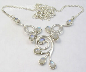 Artisan-Necklace-16-3-4-034-925-Solid-Silver-Classic-Jewelry-Store-Made-In-India