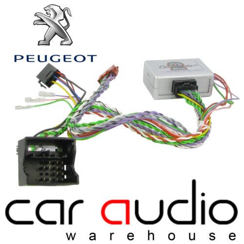 Peugeot 207 2006 auto estéreo Volante /& Reversa interfaz Sensor de ctspg013