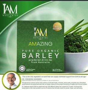 IAm Amazing Pure Organic Barley Powder Drink USA Seller