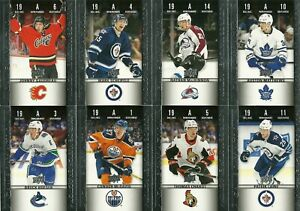 2019-20-Tim-Hortons-Upper-Deck-Game-Day-Action-8-Card-Lot