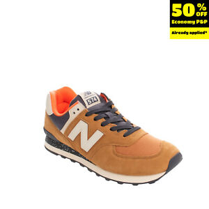 NEW BALANCE 574 Sneakers RIGHT SHOE ONLY Size 45.5 UK 11 US 11.5 Paint Splatter