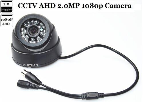 """CCTV AHD 1//3/"""" 2.0 MP HD 1080P IR-CUT Night Vision OSD Menu CCTV Dome AHD Camera"""