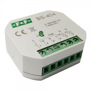 Bistable SEQUENCE RELAY CURRENT IMPULSE FOR FlushMounted Boxes FF