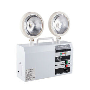 220V-Automatic-emergency-light-Double-Head-Rechargeable-LED-safety-exit-light-Y