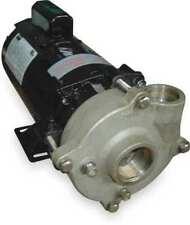 Dayton 2zwu4 Stainless Steel 1 Hp Centrifugal Pump 115230v