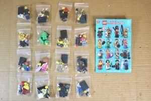 Lego Minifigures 8805 Série 5 Ensemble complet de 16 figurines Nr