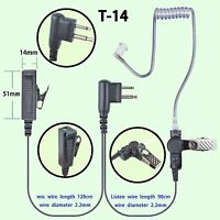 2-wire Mic Ear Pieces For Motorola Dtr550 Ep350 Cp040 Gp2000 Two Way Radio