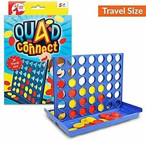 TRAVEL SIZE connect four 4 IN A LINE BOARD GAME