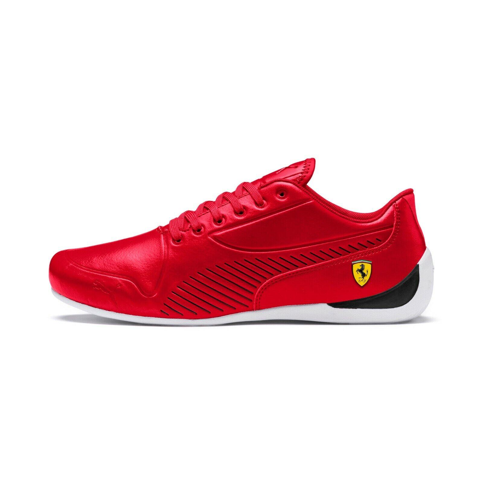 Para Hombre Puma Scuderia Ferrari Drift Cat 7S Ultra Zapatos rojo Corsa negro 306424-03