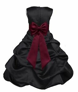 7dd4564ce83 PICK-UP FLOWER GIRL DRESS PAGEANT BRIDESMAID FORMAL MULTIPLE COLORS ...