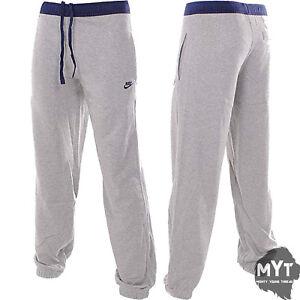 nike fleece track pants