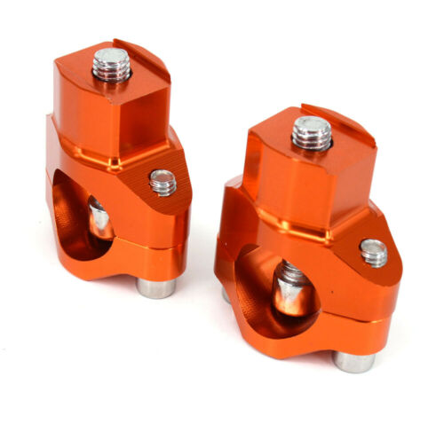"""1 1//8/"""" 28mm HandleBar Risers Bar Mount Clamp For KTM SX SXF EXC EXCF XCW 125-530"""