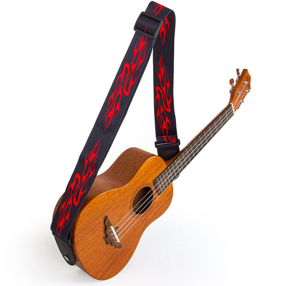 adjustable guitar strap for electric acoustic classical guitar bass leather head ebay. Black Bedroom Furniture Sets. Home Design Ideas