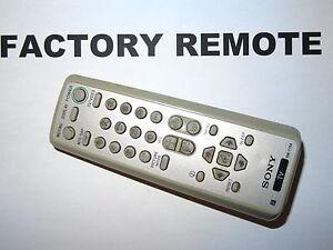 Genuine OEM SONY RM-Y194 Remote Control for KV24FS120 KV20FS120 RMY194 146883512