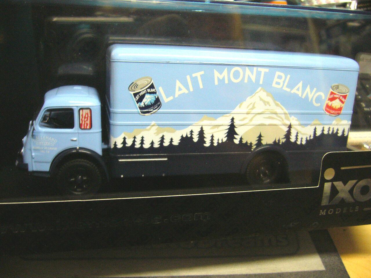 Renault faineant camiones Truck 1955 lait Mont bianca Ixo 1 43
