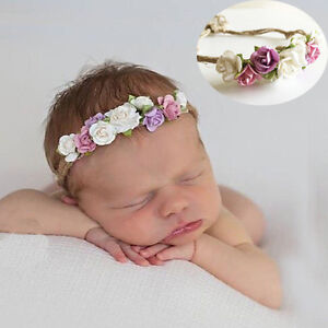 Hot Kids Baby Girl Toddler Lace Crown Hair Band Headwear Headband Accessories