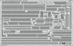 Eduard-Accessories-53253-1-3-50-Uss-CV-10-Yorktown-Securite-Nets-amp-Railings
