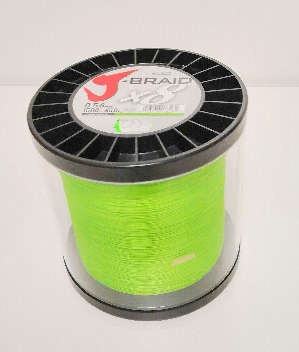 Daiwa J- Braid 0,56mm 0,56mm 0,56mm chartreuse 1500m 494c5e